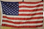 50 Star USA FLAG - 3x5ft- Nylon - VINTAGE